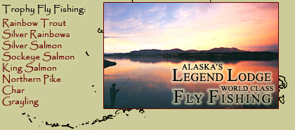 World Class Fly Fishing Rainbow Trout Silver Rainbows Silver Salmon Sockeye Salmon King Salmon Northern Pike Char Grayling